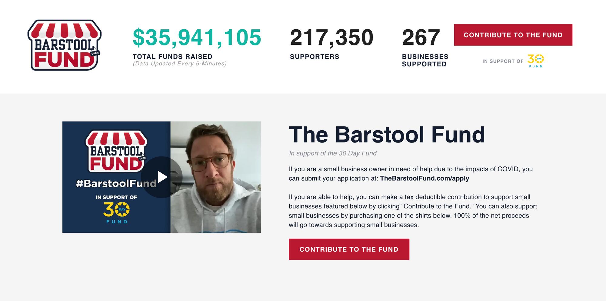 The Barstool Fund